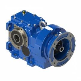Helical bevel gears