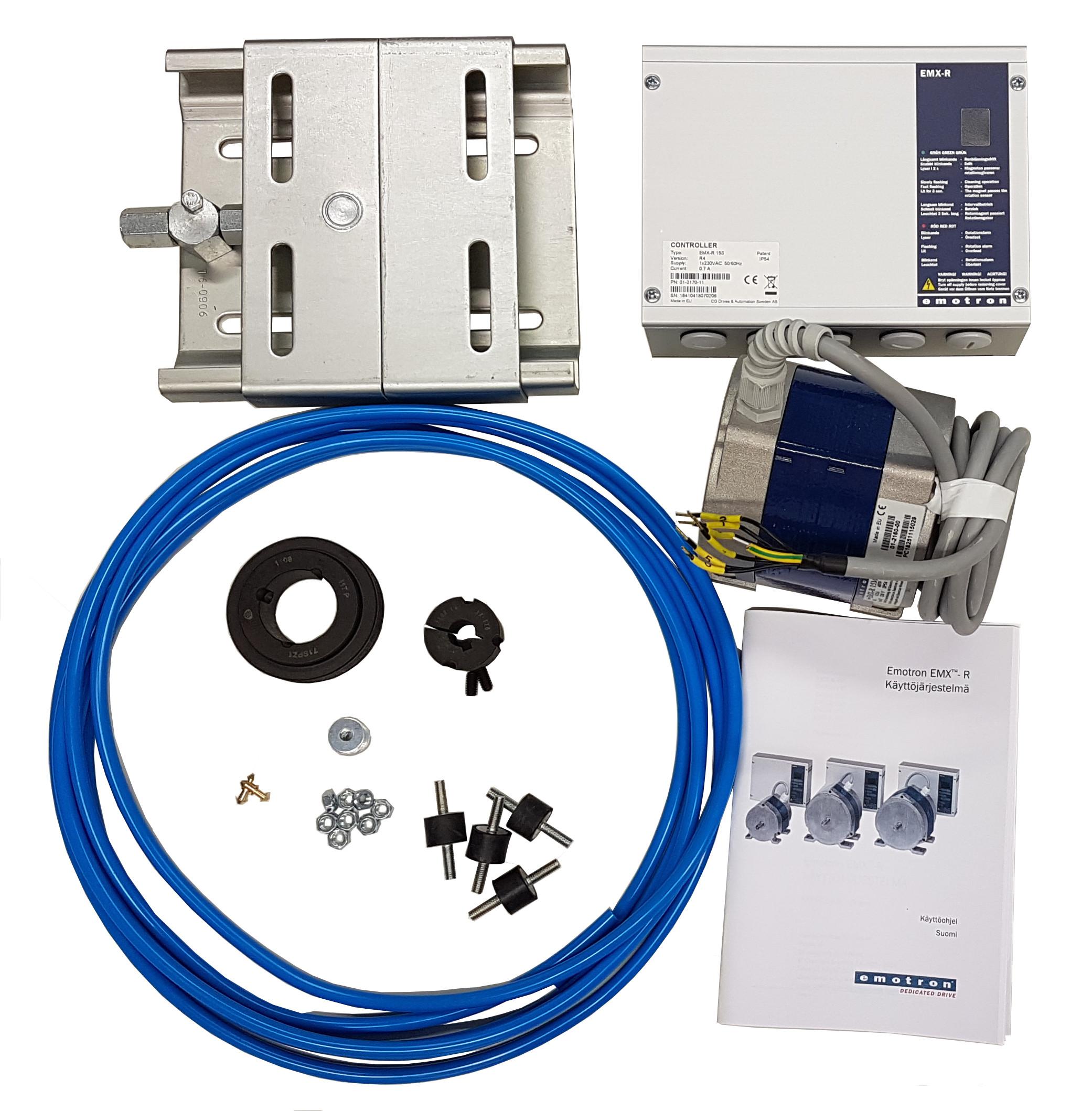 Täydelliset EMX-R järjestelmäpaketit pyöriville lämmönsiirtimille
